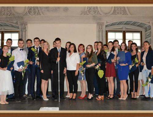 Ocenení mladí ľudia zo stredných škôl kraja