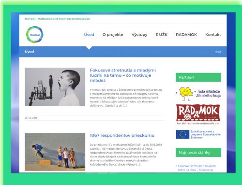 May -nový web o živote medzinárodného  projektu