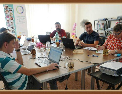 Pracovná porada medzinárodného projektového tímu k Správe o motivácií mladých