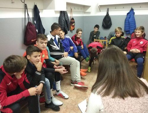 Aj mladým futbalistom na Nededzi záleží