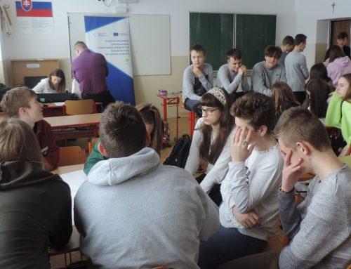 Prvá analytická diskusia v Oravskej Jasenici s mladými ľuďmi