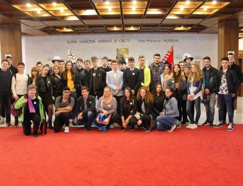 Olympionici zo žiackych školských rád v NR SR