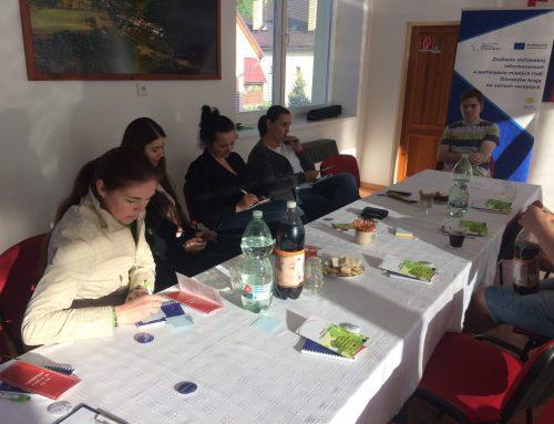 Pracovné stretnutie s dospelými občanmi v obci Zábiedovo