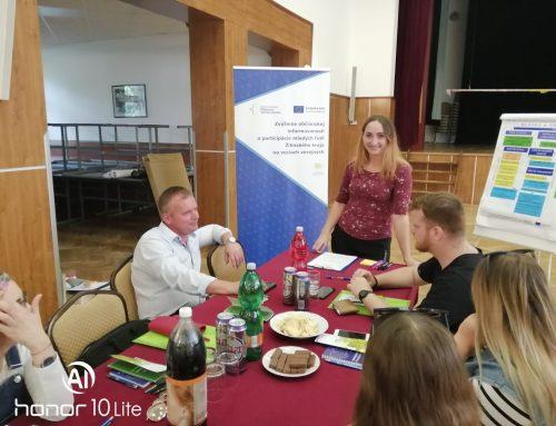 Vysokoškoláci z Klina diskutovali spoločne so starostom obce o tom, čo trápi mladých ľudí