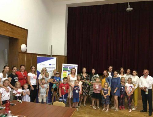 V Kline sa stretli akčné mladé mamičky, aby spoločne hľadali možnosti zlepšenia života mladých ľudí v obci