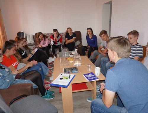Rady mládeže obci na svojom prvom pracovnom stretnutí
