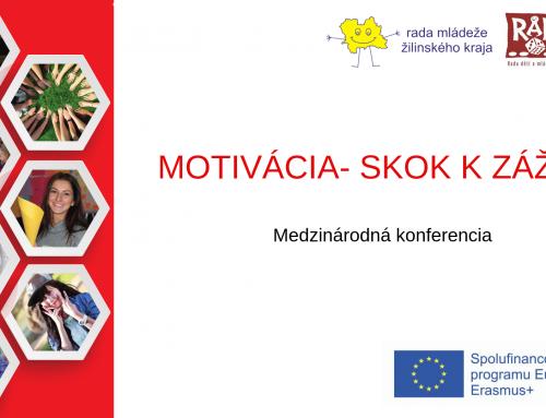 Pozvánka na konferenciu: Motivácia- skok k zážitku