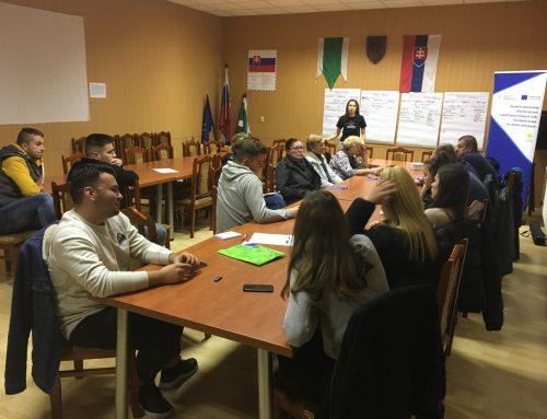 Plánovanie aktivít pre mládež v Oravskej Jasenici