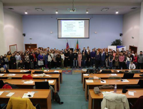 Krajský stredoškolský parlament pod vedením RMŽK