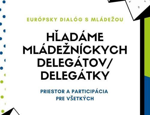 Hľadajú sa mládežnícki delegáti/ delegátky VIII. cyklu EDM