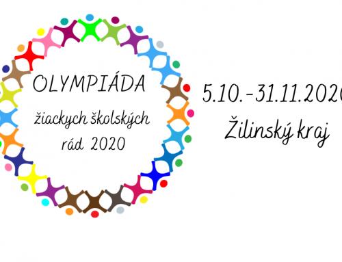 Olympiáda žiackych školských rád 2020- vyhlásenie výzvy