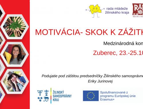 Pozvánka na konferenciu: Motivácia- skok k zážitku II.