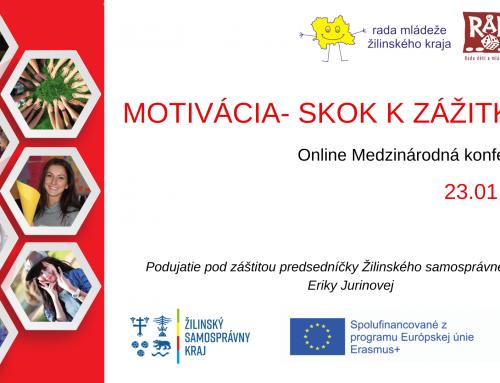 Pozvánka na online konferenciu: Motivácia- skok k zážitku II.